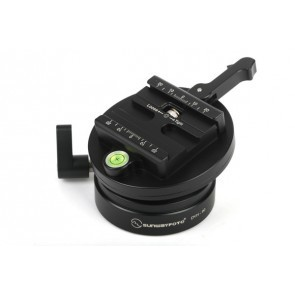 Sunwayfoto DYH-90B Leveling Base Met Index Rotator