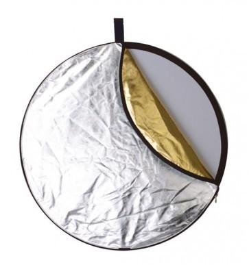 Reflectiescherm 110cm 5 In 1 Zacht Goud