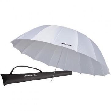 Westcott 87 Inch 220 Cm Parabolic White Diffusion Paraplu