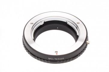 Minolta MD adapter voor Nikon F