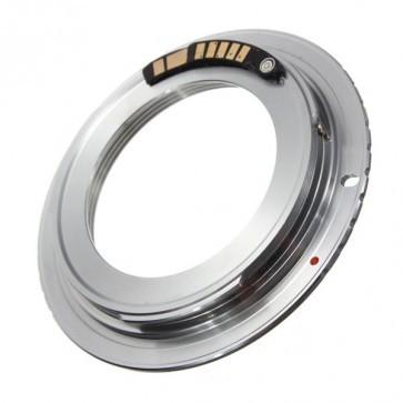 M42 Adapter voor Canon EOS met AF bevestiging chip (versie 9)