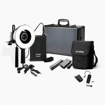 Godox Portable Outdoor Ringflitser Exr 400 Set
