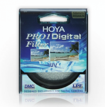 Hoya DMC Pro1 UV Filter 58mm