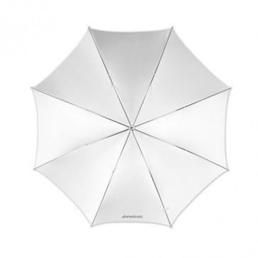 Westcott 43 Inch 109 Cm Optical White Satin Opvouwbare Paraplu