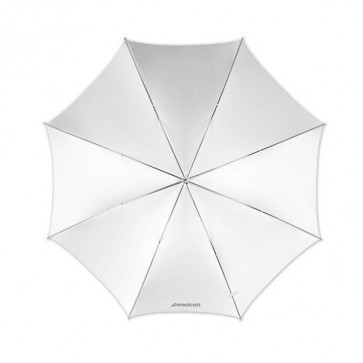 Westcott 32 Inch 81 Cm Optical White Satin Paraplu
