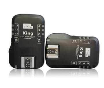 Pixel TTL radio trigger set King voor Nikon