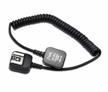 Pixel off camera shoe cord voor Canon OC-E3