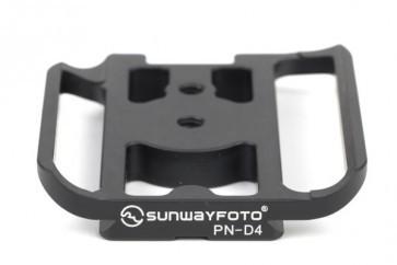 Sunwayfoto Statiefkoppelingsplaat Specifiek voor de Nikon D4