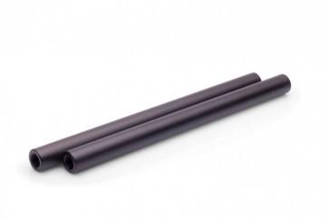 Set Van 2 Aluminium 15mm Pijpen Zwart