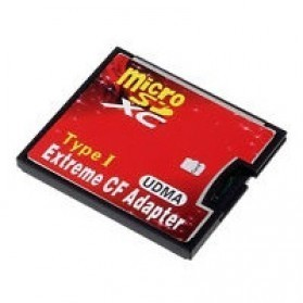 Extreme Micro SD Naar CF Adapter Type I