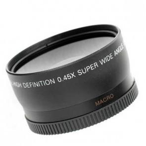 Groothoek converter 0.45x met macro mogelijkheid - 58mm