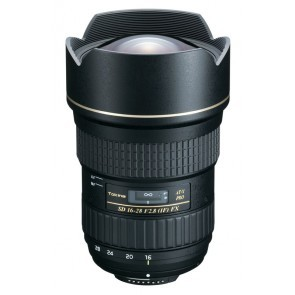 Tokina AT-X PRO FX 16-28mm f/2.8 voor Nikon objectief