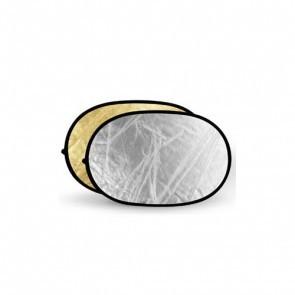 Reflectiescherm 100x150cm 2 In 1 Goud Zilver