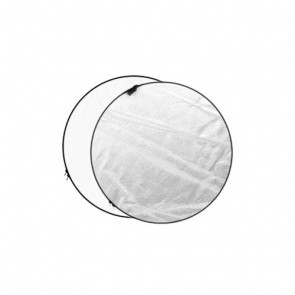 Reflectiescherm 110cm 2 In 1 Zilver Wit