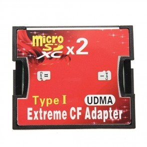 Extreme 2x SD Naar CF Adapter Type I