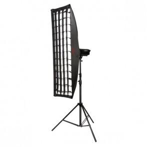 Striplight Softbox 35x160cm 2 In 1 Voorzien Van Grid