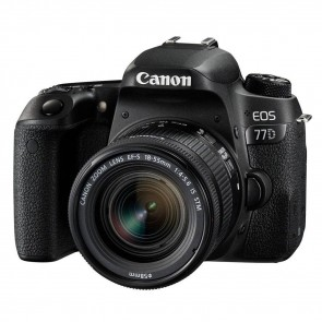 Canon EOS 77D DSLR + 18-55mm f/4.0-5.6 IS STM
