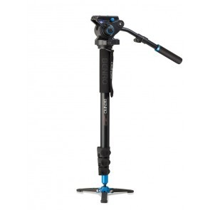 Benro Video Monopod Set A48FDS6 Met S6 Video Kop