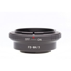 Micro fourthirds adapter voor Canon FD Lenzen