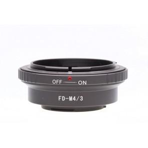 Micro fourthirds adapter voor Canon FD Lenzen
