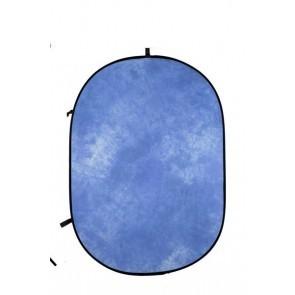 Flexibele Achtergrond 1.5 x 1.95mtr Cloudy Blue