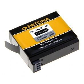 Patona Accu Gopro Ahdbt 401 Compatible