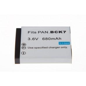 Panasonic Bck7 Compatible Accu