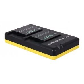 PATONA Duo lader voor Panasonic DMW-BCM13 accu's