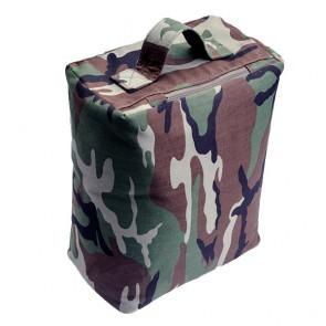 Vierkante rijstzak ( Beanbag ) in camouflage kleur (random) - ongevuld