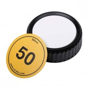 Caruba beschrijfbare lensdop voor Nikon