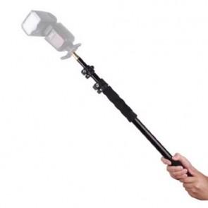 Portable lamp statief, boompole - 63/158cm