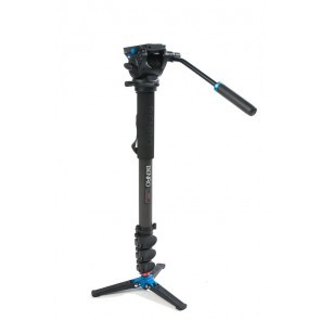 Benro Video Monopod Set C48FDS4 met S4 Video Kop