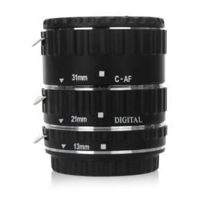 Metalen tussenringen set voor Canon AF (EF-EFS)
