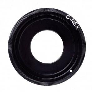 C Mount adapter voor Sony E-mount (NEX) camera's