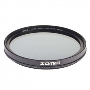Zomei Circulair Polarisatie filter SLIM PRO - 62mm