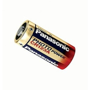 Panasonic CR123 (A) batterij per 2 Stuks