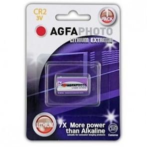 Agfa CR2 lithium extreme 3V batterij