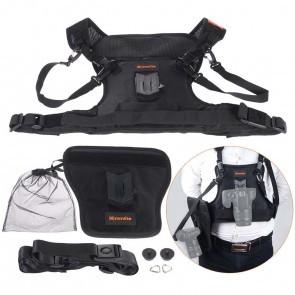 Commlite CS-S20 camera harnas voor 1 of 2 camera's.