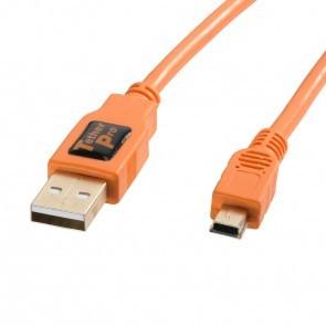 Tetherpro Usb 2 0 Kabel 1 8 Meter Oranje
