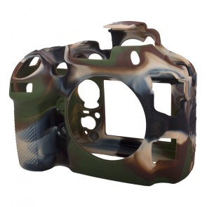 EasyCover silicone bescherming voor Nikon D800 Camouflage