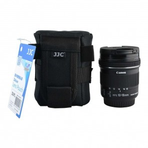JJC DLP-1 Deluxe lens pouch / case 10 x 7.5cm