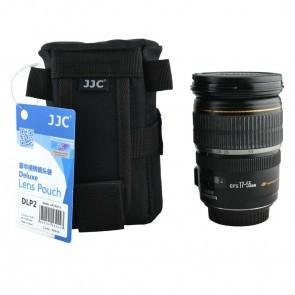 JJC DLP-2 Deluxe lens pouch / case 13.5 x 7.5cm