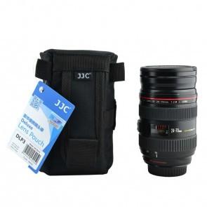 JJC DLP-3 Deluxe lens pouch / case 15 x 7.5cm