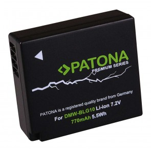 Patona accu Panasonic DMW-BLG10 compatibel