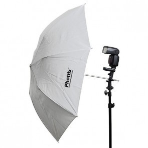 Phottix 36 Inch 91 Cm Dubbel Opvouwbare Paraplu Shoot Through