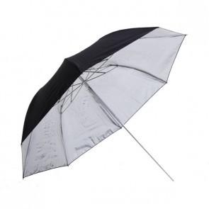 Phottix 36 Inch 91 Cm Dubbel Opvouwbare Paraplu Zilver
