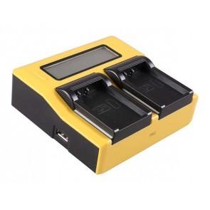 PATONA Duo lader voor Canon LP-E17 accu's
