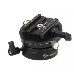 Sunwayfoto DYH-90a Leveling Base Met Index Rotator
