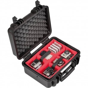 Explorer Cases 3818 koffer zwart met fotografie indeling 410x340x205