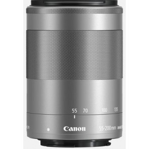 Canon EF-M 55-200mm f/4.5-6.3 IS STM objectief - Zilver
